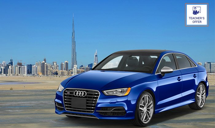 rent audi a6 dubai