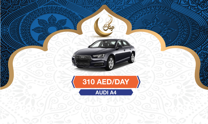 rent audi a4 dubai
